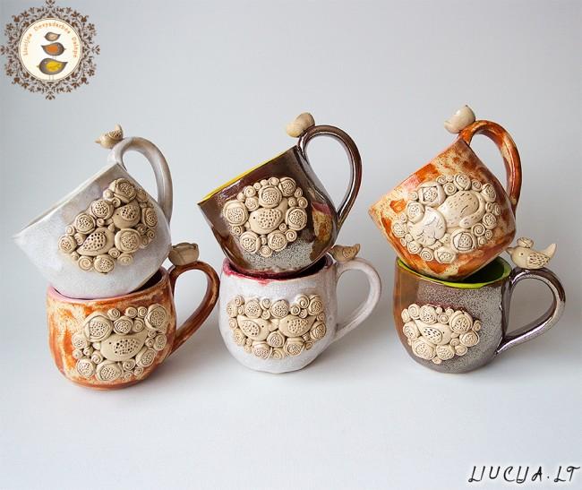 Šventiniai puodeliai