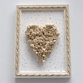Širdelė rėmelyje