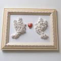 Rėmelis Meilės paukščiai