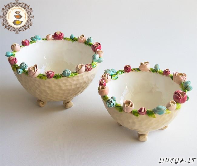 Dubenėliai Spalvoti žiedai