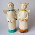 Skulptūrėlės Mano angelai sargai