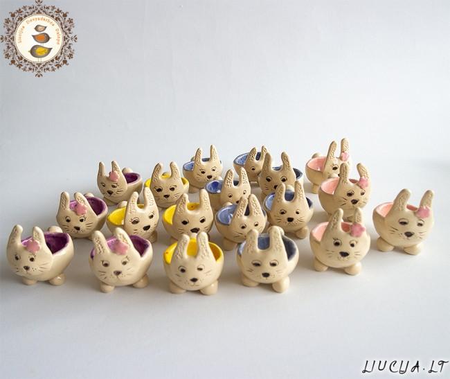 Kiaušinių indeliai Zuikeliai