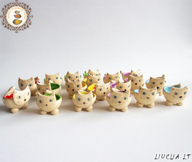Kiaušinių indeliai Kačiukai