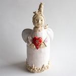 Angelas-skulptūrėlė Namų saugotoja