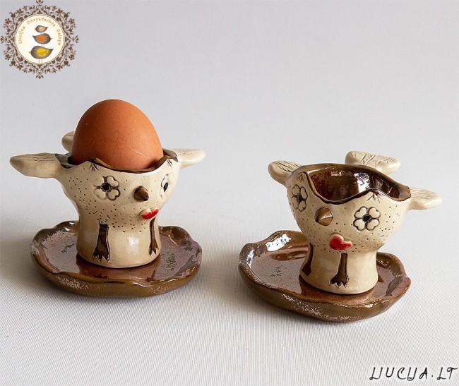 Kiaušinių indelių komplektas Pelėdžiukai