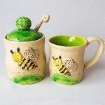 Cukrinė ir puodelis Bitutės